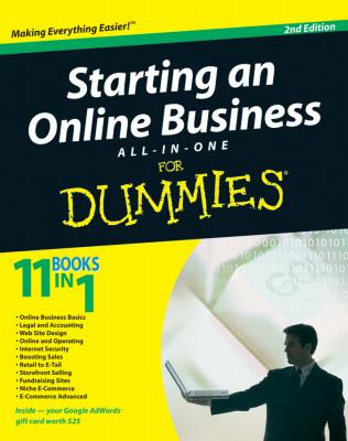 Starting an Online Business All-in-One Desk Reference For Dummies - Joel  Elad