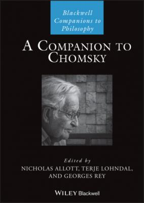 A Companion to Chomsky - Группа авторов