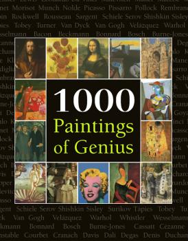 1000 Paintings of Genius - Victoria Charles The Book