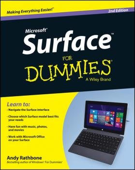 Surface For Dummies - Andy  Rathbone