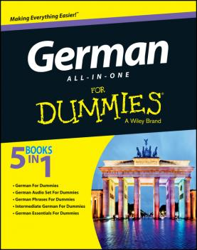 German All-in-One For Dummies - Anne  Fox