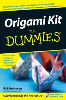 Origami Kit For Dummies - Nick  Robinson