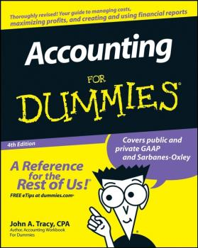 Accounting For Dummies - John Tracy A.