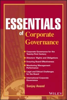 Essentials of Corporate Governance - Sanjay  Anand