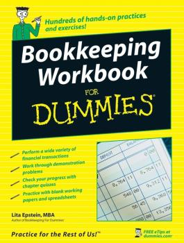 Bookkeeping Workbook For Dummies - Lita  Epstein