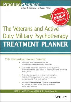 The Veterans and Active Duty Military Psychotherapy Treatment Planner, with DSM-5 Updates - Jongsma Arthur E.
