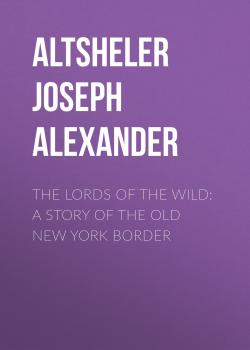 The Lords of the Wild: A Story of the Old New York Border - Altsheler Joseph Alexander