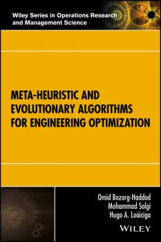 Meta-heuristic and Evolutionary Algorithms for Engineering Optimization - Omid  Bozorg-Haddad