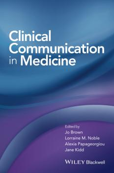 Clinical Communication in Medicine - Jo  Brown