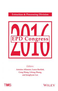 EPD Congress 2016 - Cong  Wang