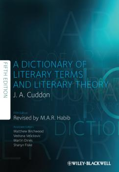 A Dictionary of Literary Terms and Literary Theory - Martin  Dines