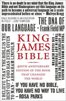 King James Bible: 400th Anniversary edition of the book that changed the world - Литагент HarperCollins USD