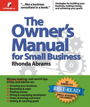 The Owner's Manual for Small Business - Rhonda  Abrams