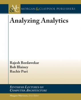 Analyzing Analytics - Rajesh Bordawekar Synthesis Lectures on Computer Architecture
