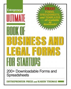 Ultimate Book of Business and Legal Forms for Startups - Karen Thomas Ultimate Series