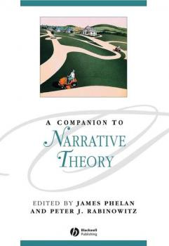 A Companion to Narrative Theory - James  Phelan