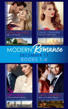 Modern Romance Collection: December 2017 Books 1 - 4 - Эбби Грин Mills & Boon e-Book Collections