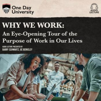 Why We Work - An Eye-Opening Tour of the Purpose of Work in Our Lives (Unabridged) - Barry  Schwartz
